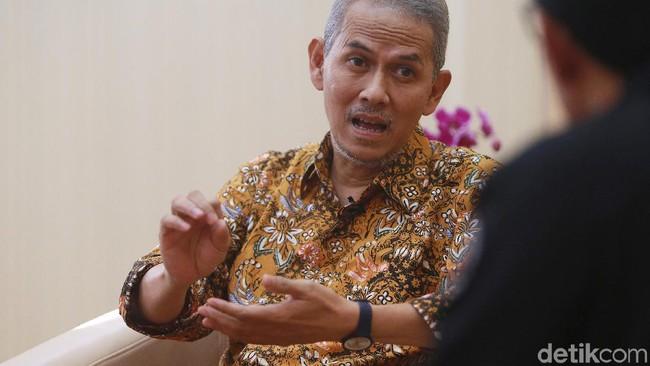 Kepala Badan Pelaksana, Badan Pengelola Keuangan Haji (BPKH) Anggito Abimanyu/Foto: Ari Saputra