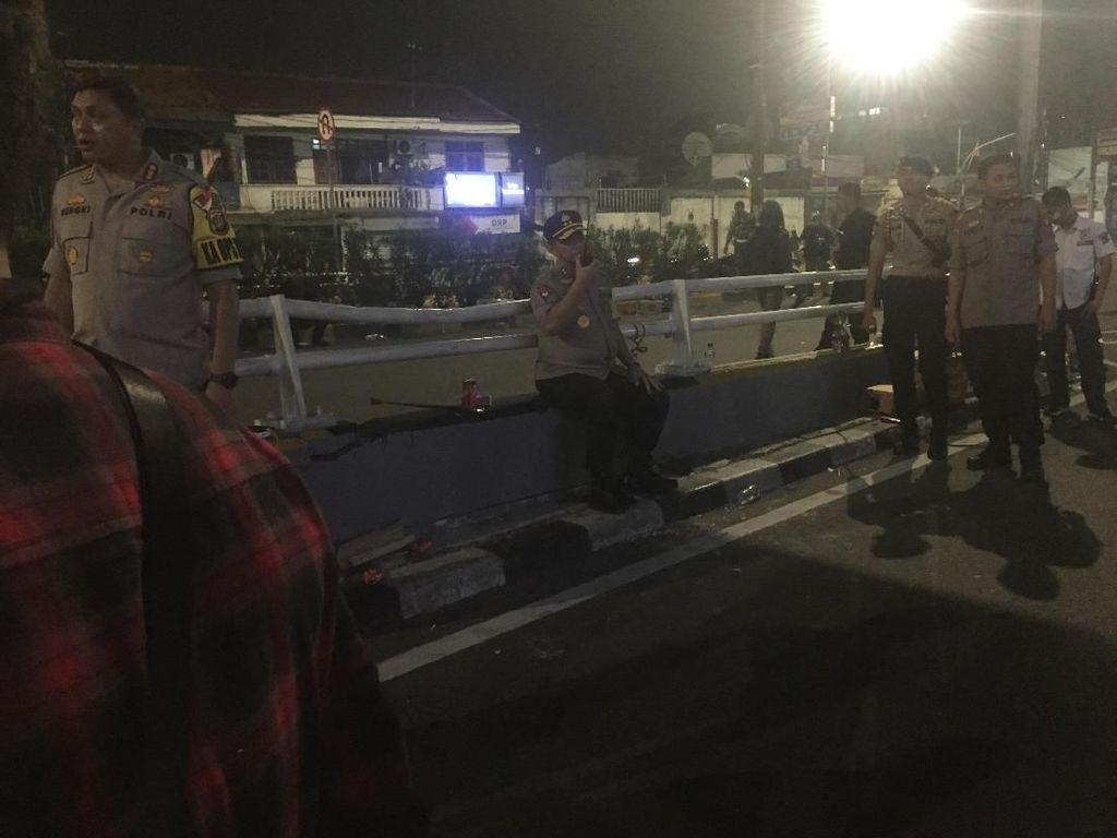 Kapolda Metro Jaya Pantau Lokasi Ricuh di Slipi Jakbar