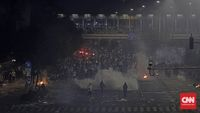 KontraS menyebut salah satu pelanggaran HAM terjadi saat aparat begitu represif terhadap pedemo di Bawaslu 21-22 Mei lalu