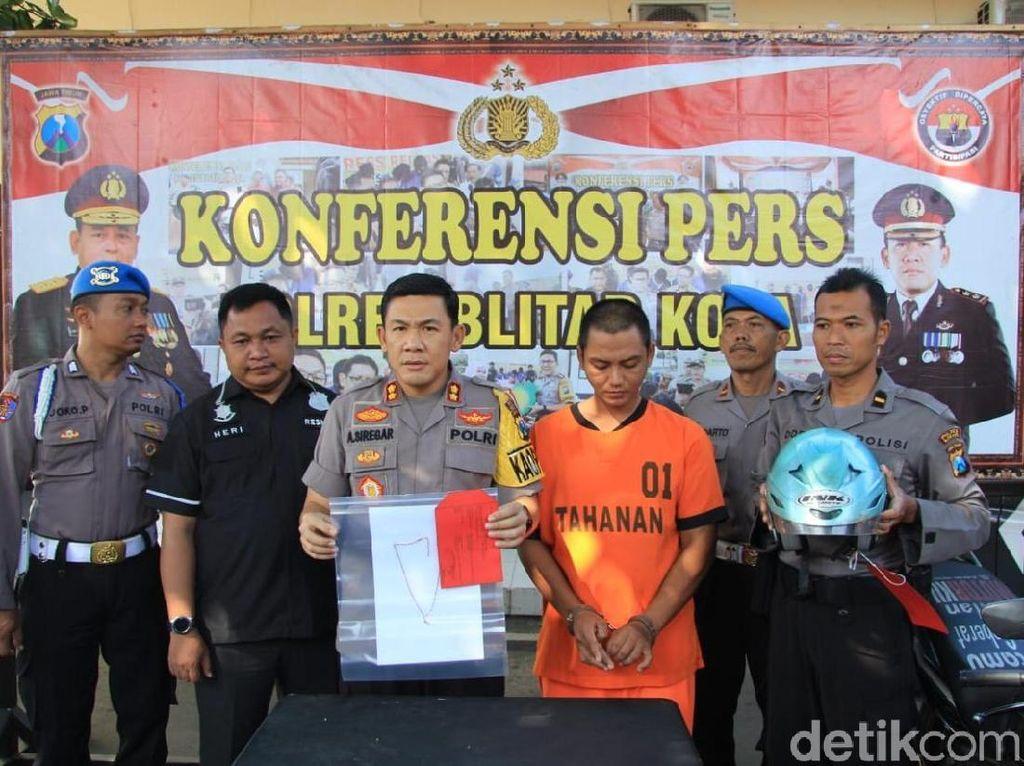 Residivis Jambret di Blitar Jalani Lebaran di Penjara