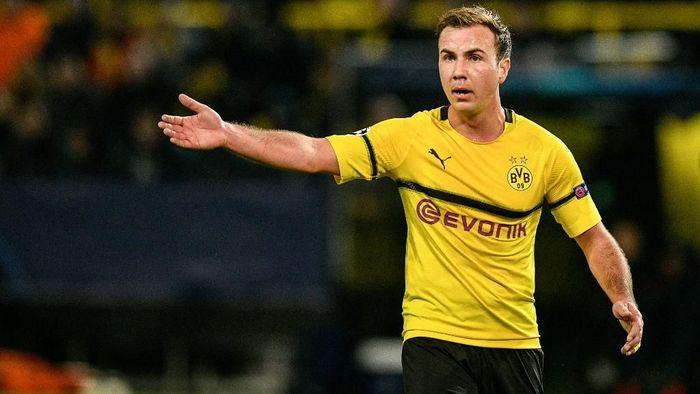 Mario Goetze mengalami masa sulit usai memutuskan pindah ke Bayern Munich. (Foto: Sascha Schuermann / AFP)