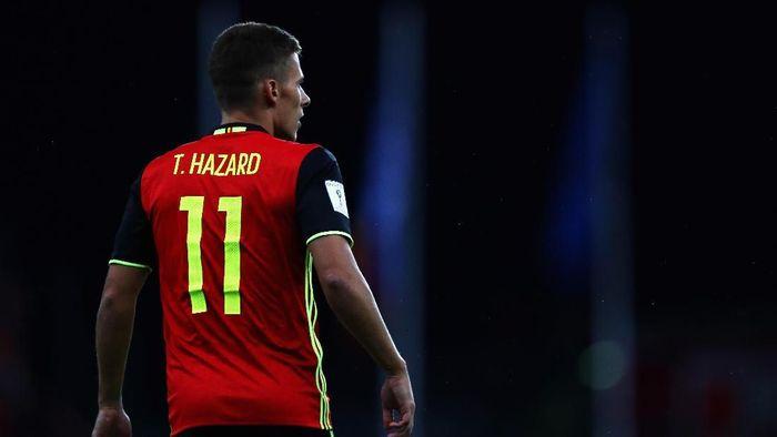 Thorgan Hazard gabung Borussia Dortmund. (Foto: Dean Mouhtaropoulos/Getty Images)