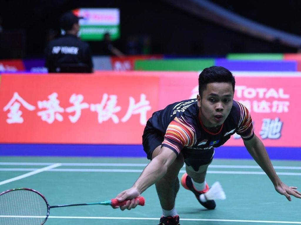 Kontrak Belum Jelas, Anthony Tanpa Sponsor di Indonesia Terbuka?