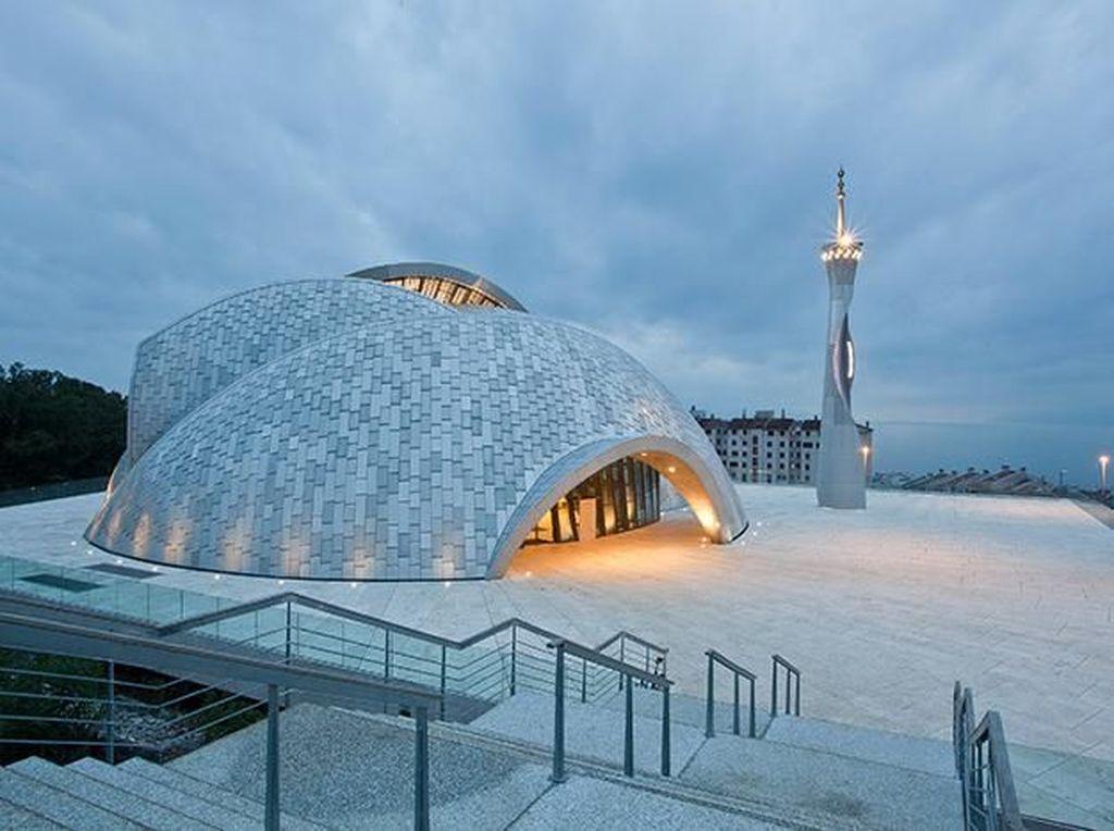 Desain Unik dan Futuristik Masjid Rijeka di Kroasia
