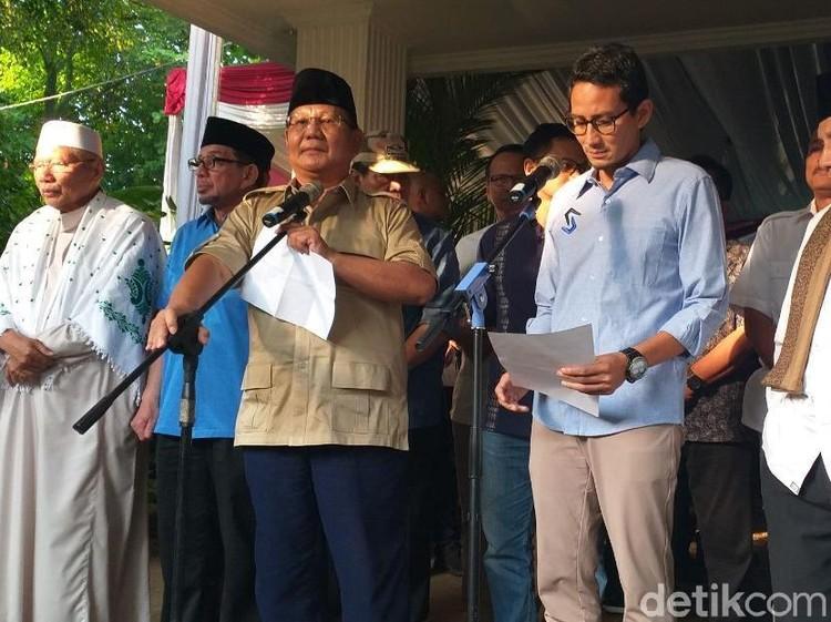 Ini Pernyataan Lengkap Prabowo soal Rusuh 22 Mei
