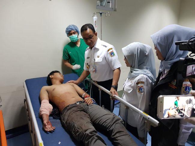 Berita Anies ke RS Tarakan Jenguk Korban Luka Akibat Demo Sabtu 24 Agustus 2019