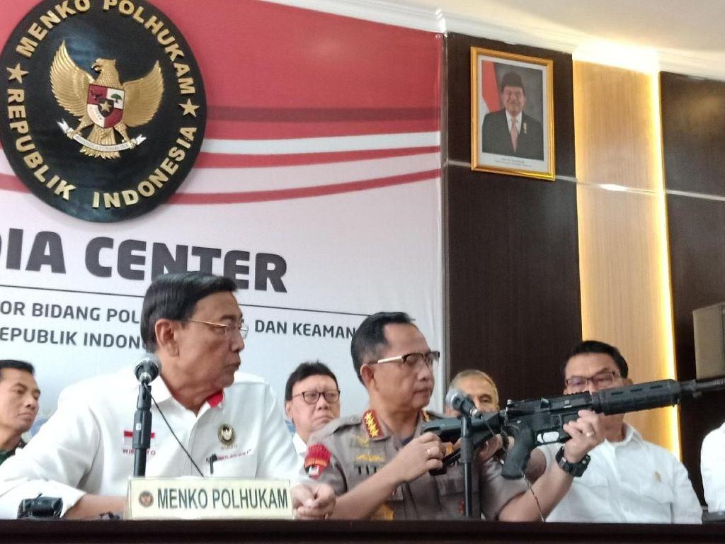 Senjata Ilegal dan Tudingan Makar pada Sang Jenderal