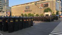 Massa Aksi 22 Mei Mulai Berkumpul, Polisi Siaga di Depan Bawaslu