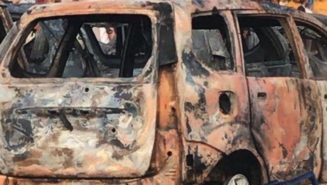 Berita Polisi: 9 Mobil di Depan Asrama Brimob Petamburan Dibakar OTK Rabu 26 Juni 2019