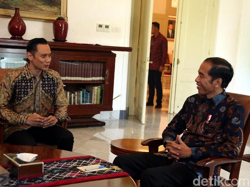 AHY: Selamat Jokowi-Maruf, Sukses Pimpin RI 5 Tahun Mendatang
