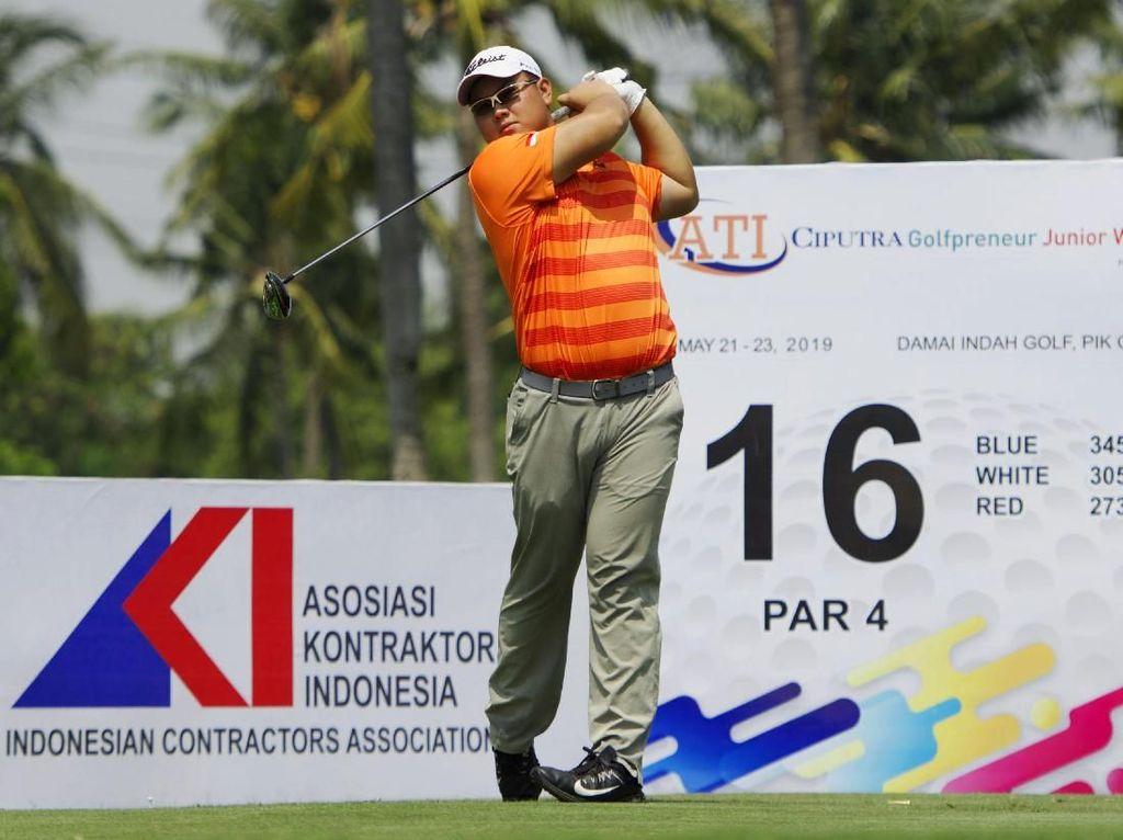 Kentaro Pimpin Klasemen ATI Ciputra Golfpreneur Junior World 2019