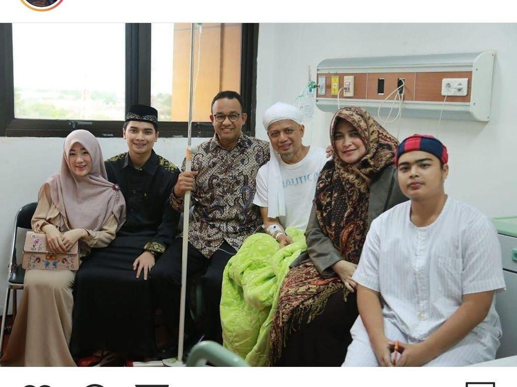 Duka Anies Baswedan Usai Dengar Ustaz Arifin Ilham Meninggal