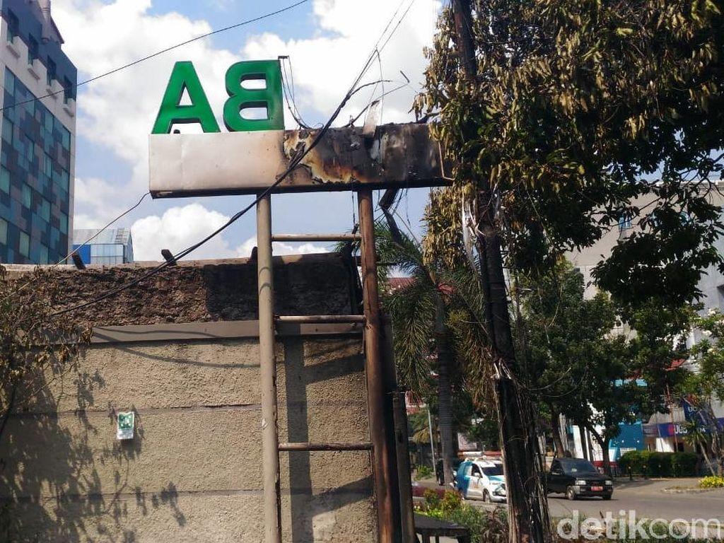 Sederet Restoran di Jalan Sabang Rusak dan Tutup, Imbas Aksi 22 Mei