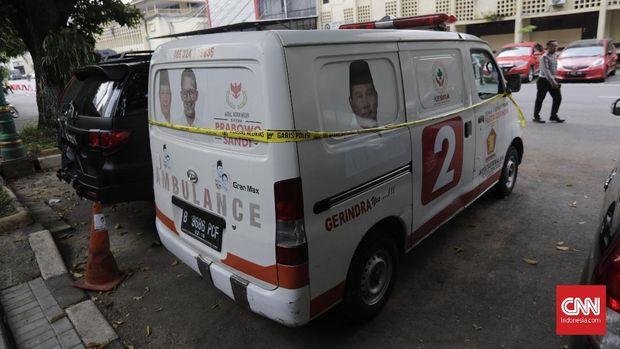 Gerindra Akui Ambulans Batu Terkait Perusahaan Anak Hashim