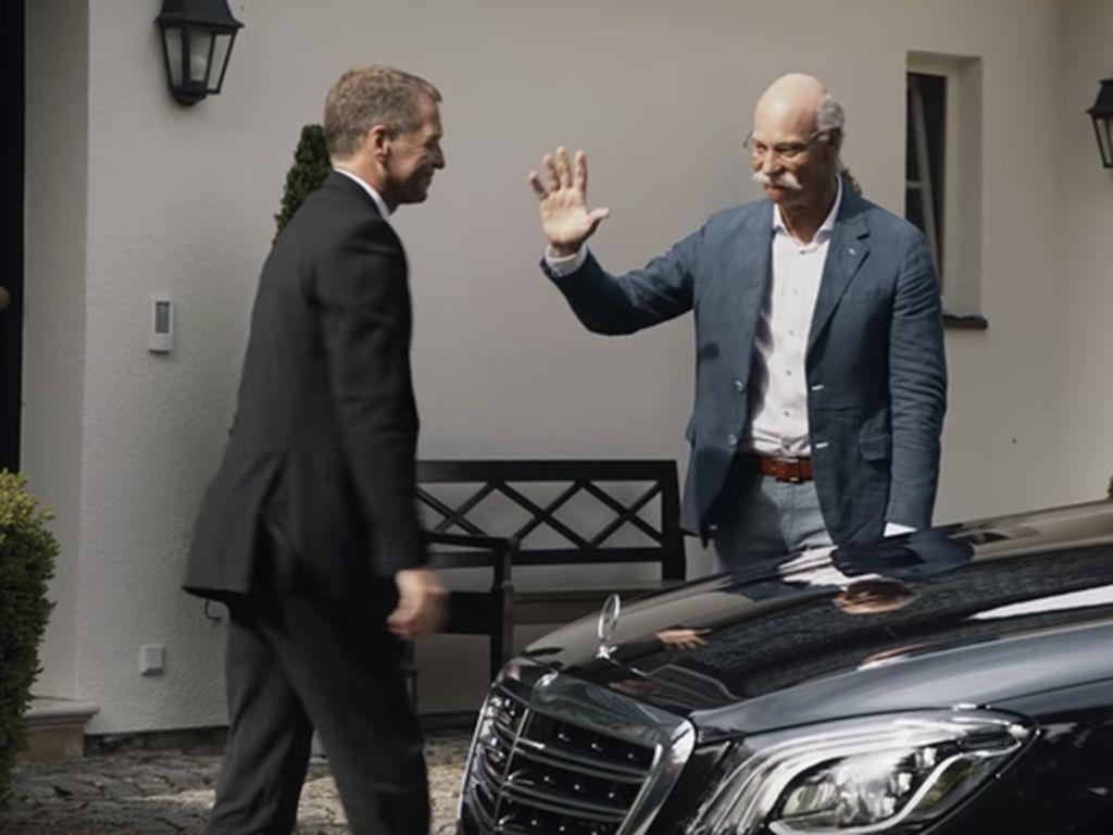 CEO Mercedes-Benz Pensiun, BMW Beri Salam Perpisahan Unik