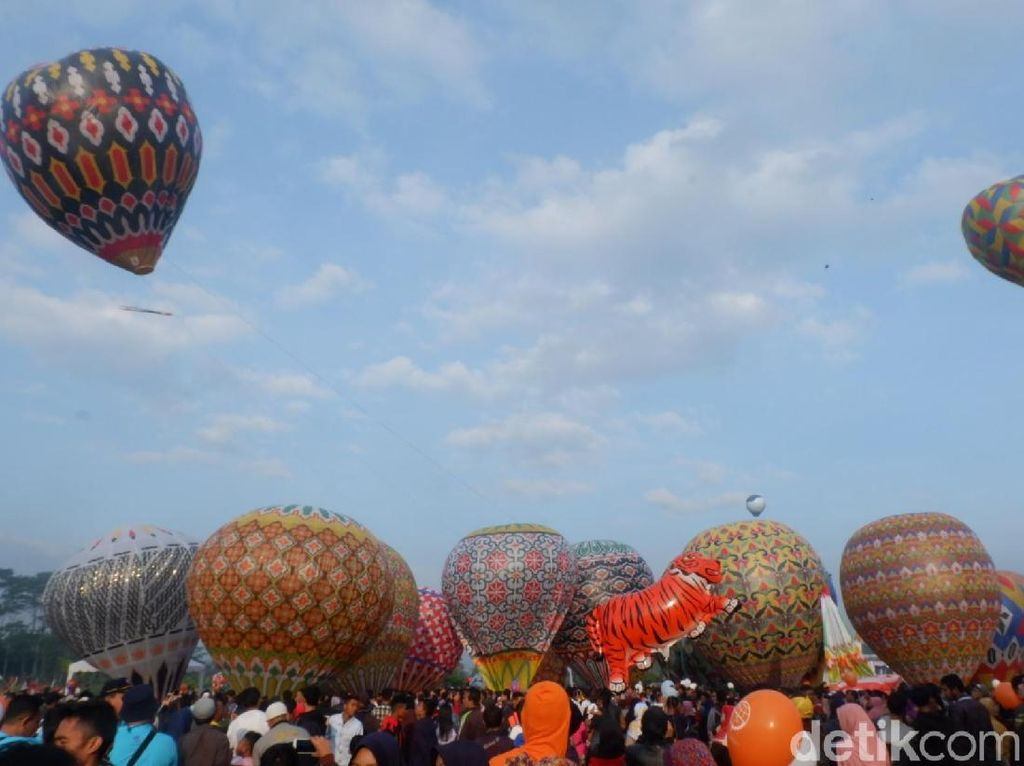Polisi Wonosobo Akan Sweeping Balon Udara Liar Saat Lebaran
