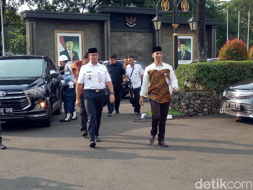Kapolri dan Anies Baswedan Sudah Tiba di Halim Perdana Kusuma