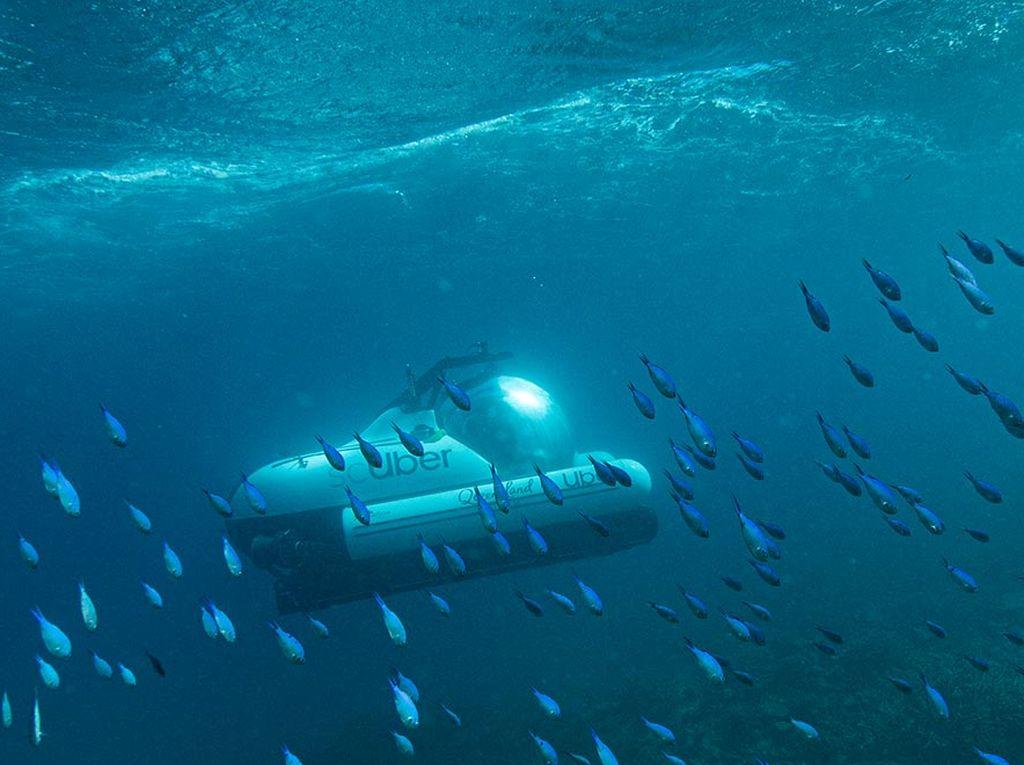 Foto: Taksi Bawah Air dari Australia