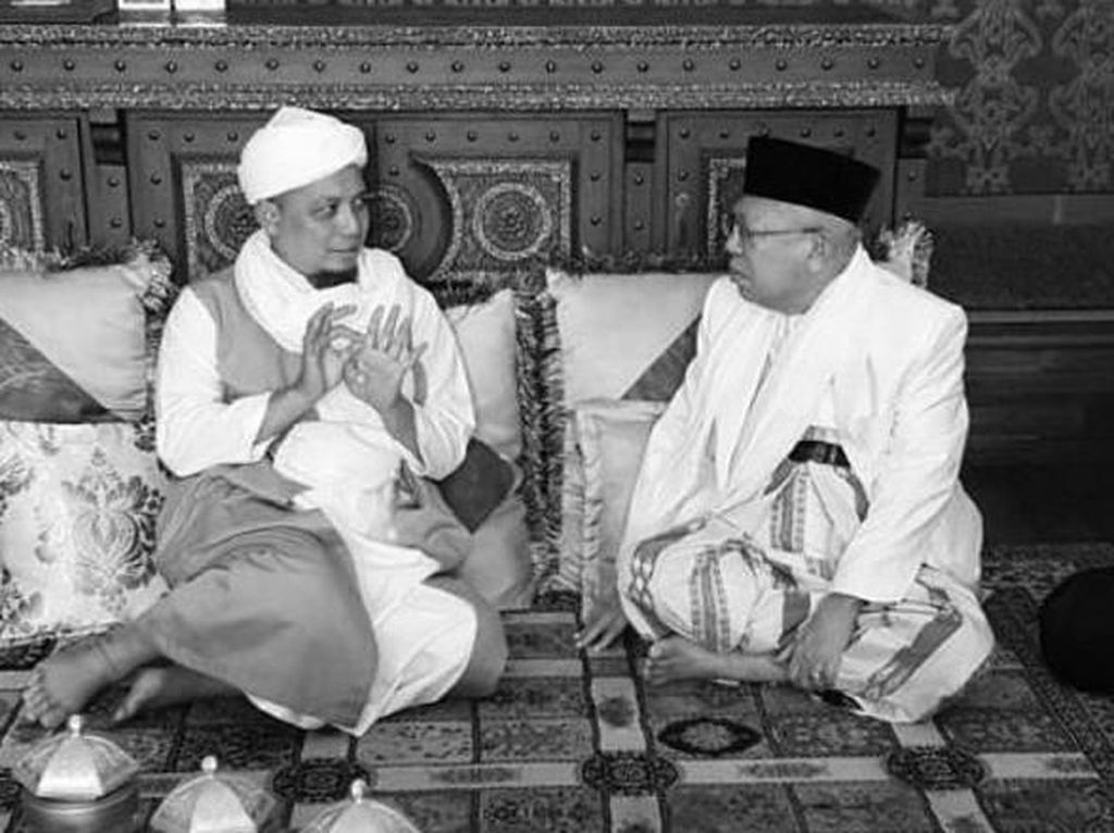 Ucapkan Duka Cita, Maruf Amin Kenang Kebersamaan dengan Arifin Ilham