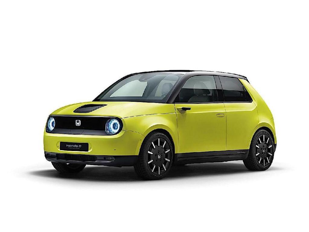 Spesifikasi Mobil Listrik Honda e, Sekali Charge Kuat 200km