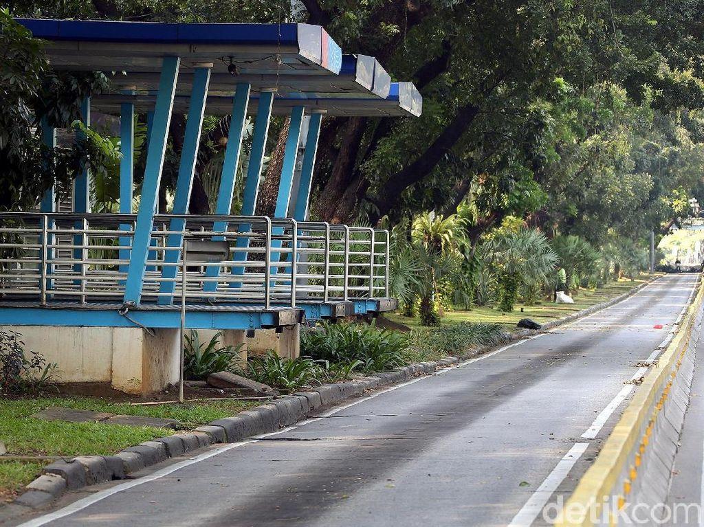TransJ Modifikasi Rute Imbas Demo di Monas, Ini Daftarnya