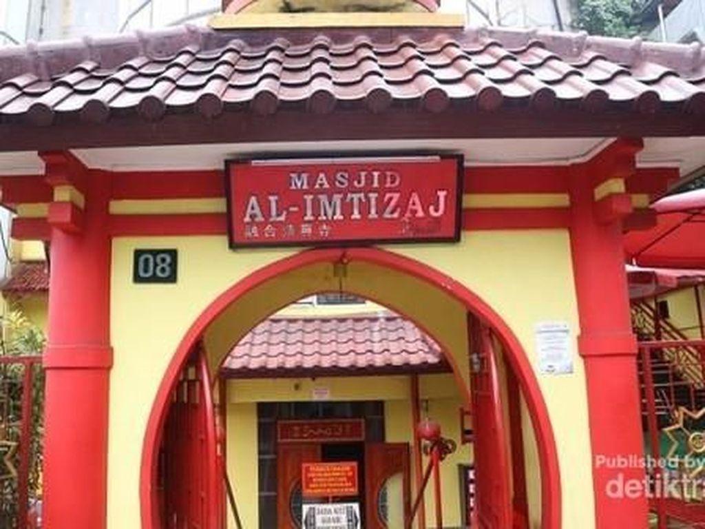 Bukan di China, Ini Masjid Oriental Bandung