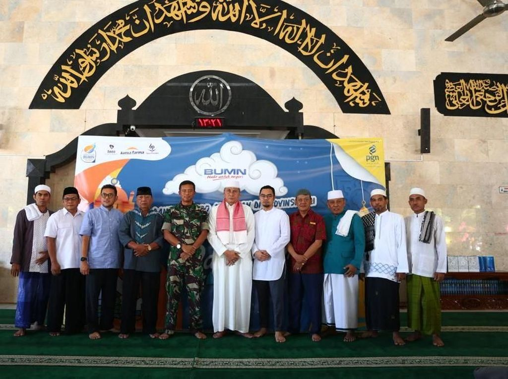 4 BUMN Bagikan 1.000 Alquran dan Santuni 1.000 Yatim di Bali