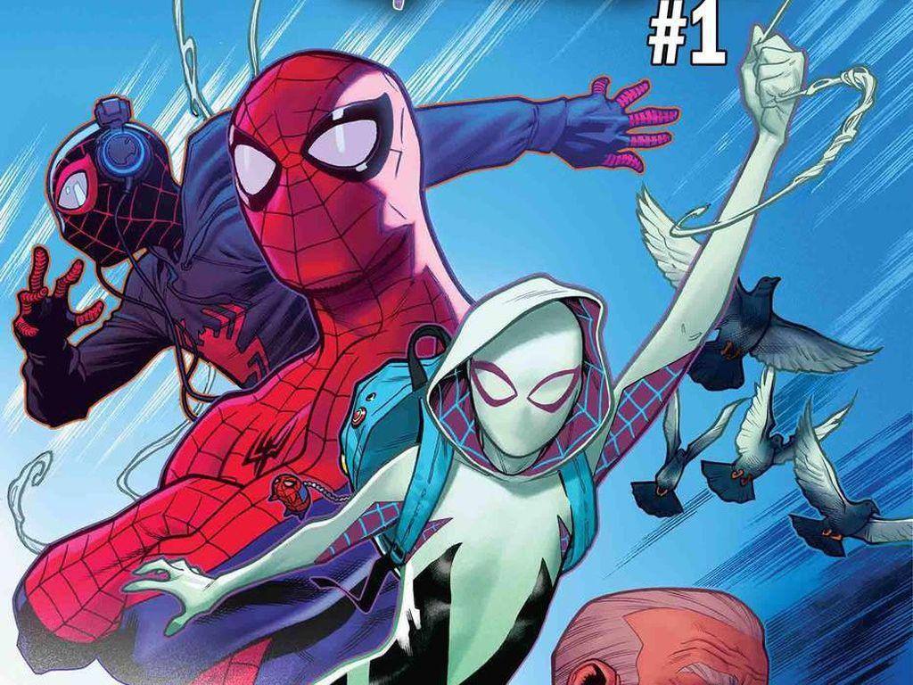 Hore... Marvel Rilis Komik Solo Terbaru Spider-Gwen
