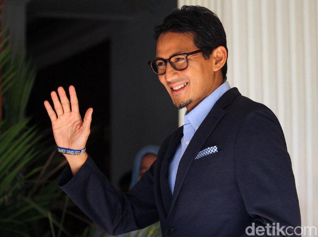 Sandiaga Sambut Ajakan Jokowi