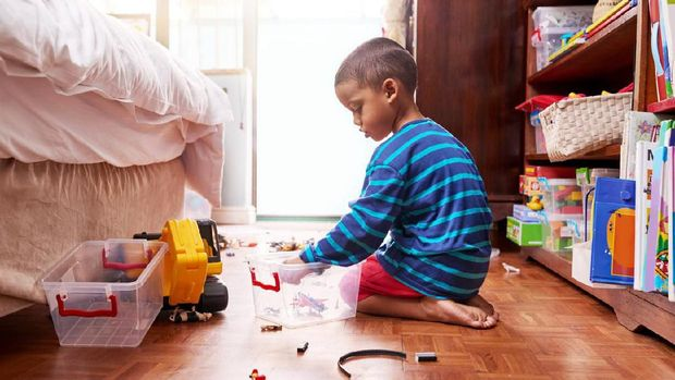 Manfaat untuk Anak Saat Bunda Tak Pakai ART Infal Lebaran