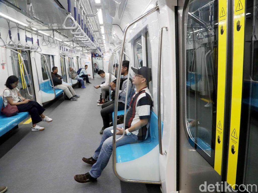 Imbas Aksi 22 Mei, Penumpang MRT Sempat Turun 40.000 Orang