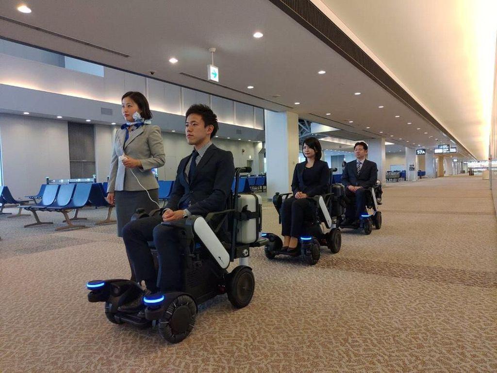 Bandara Narita Bakal Punya Fasilitas Kursi Roda Serbaguna