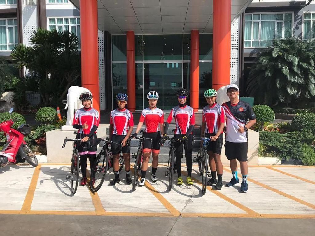 Ikut Kejuaraan Road Race di Thailand, Timnas Sepeda Putri Kejar Poin Olimpiade