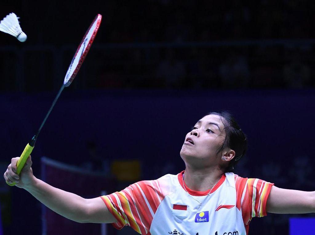 Gregoria Kalah, Indonesia vs Jepang 1-1