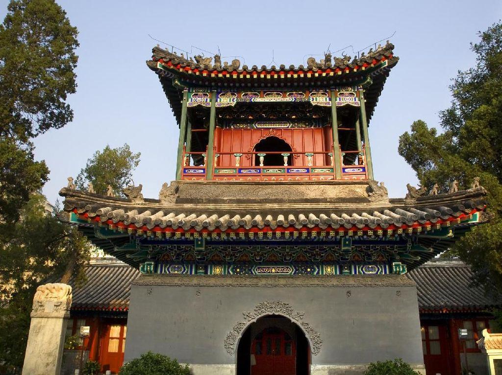 Foto: Masjid Terbesar dan Tertua di Beijing