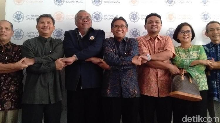 Civitas Akademika UGM Kirim Pesan Damai Pascaaksi Ricuh 22 Mei