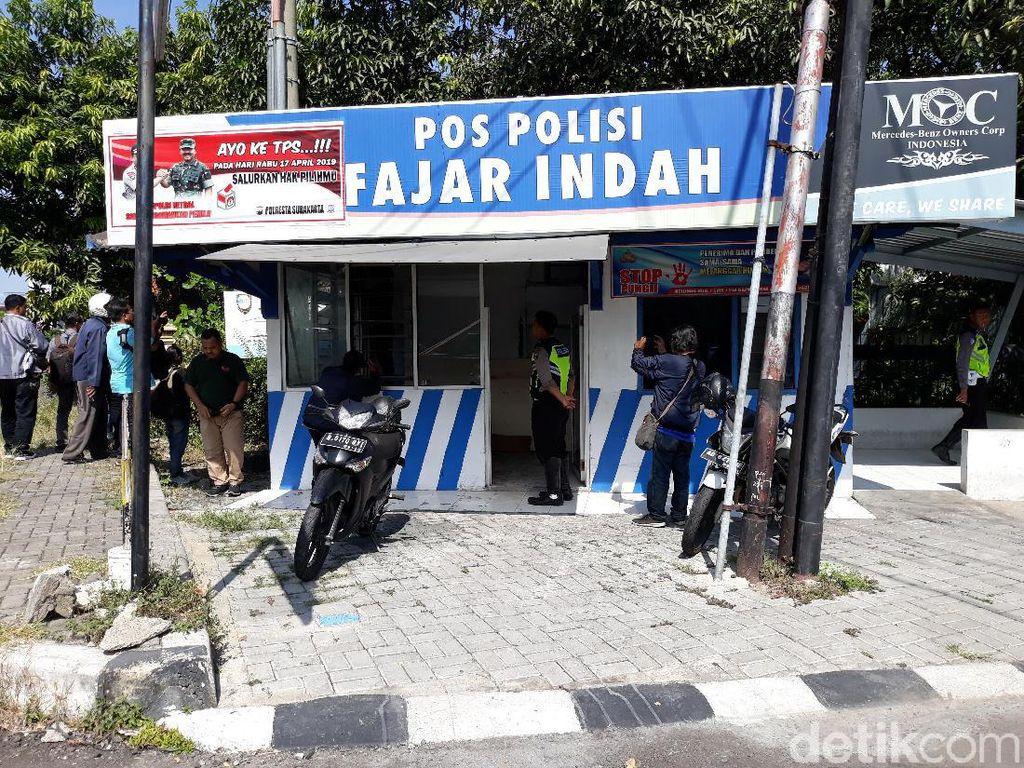 Begini Kondisi Pos Polisi di Solo Pascakebakaran