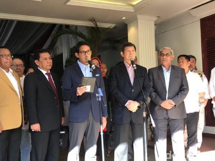 BPN Prabowo Persilakan Media Hadir Saat Daftar Gugatan ke MK