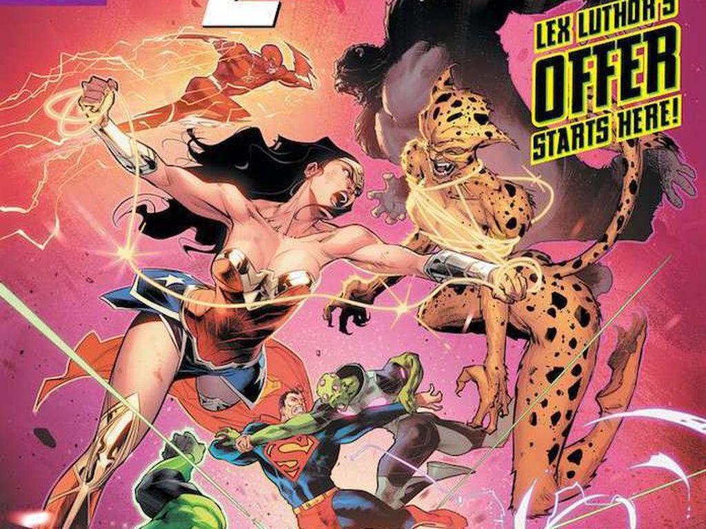 60 Tahun Hadirnya Justice League, DC Comics Ganti Logo Baru