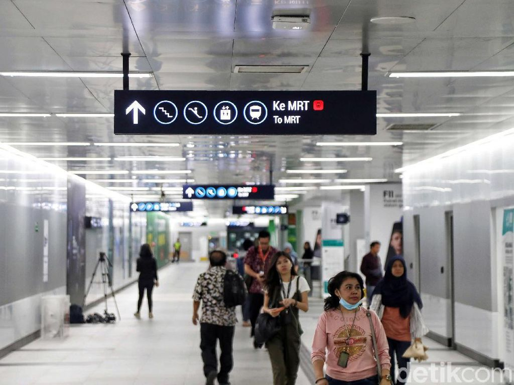 MRT Tepis Isu Sewa Kios di Stasiun Harus Seizin Istri Anies