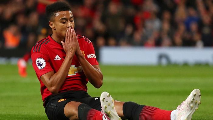 Pemain sayap Manchester United, Jesse Lingard. (Foto: Catherine Ivill/Getty Images)