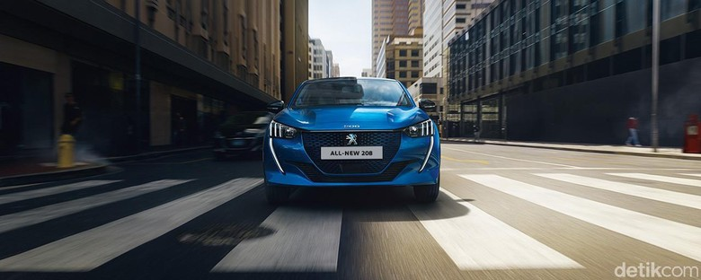 PEUGEOT e-LEGEND Concept dan PEUGEOT 208 and e-208,
