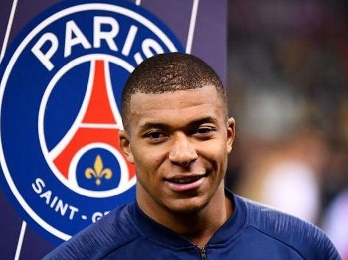 Kylian Mbappe jadi top skor Liga Prancis (FRANCK FIFE / AFP)