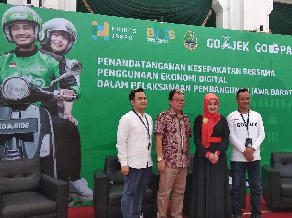 Go-Jek Siap Bantu Pasarkan Produk UMKM Warga Jabar