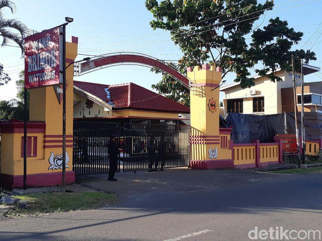 4 Personel Brimob Purwokerto Ditembaki, 1 Orang Terserempet Peluru