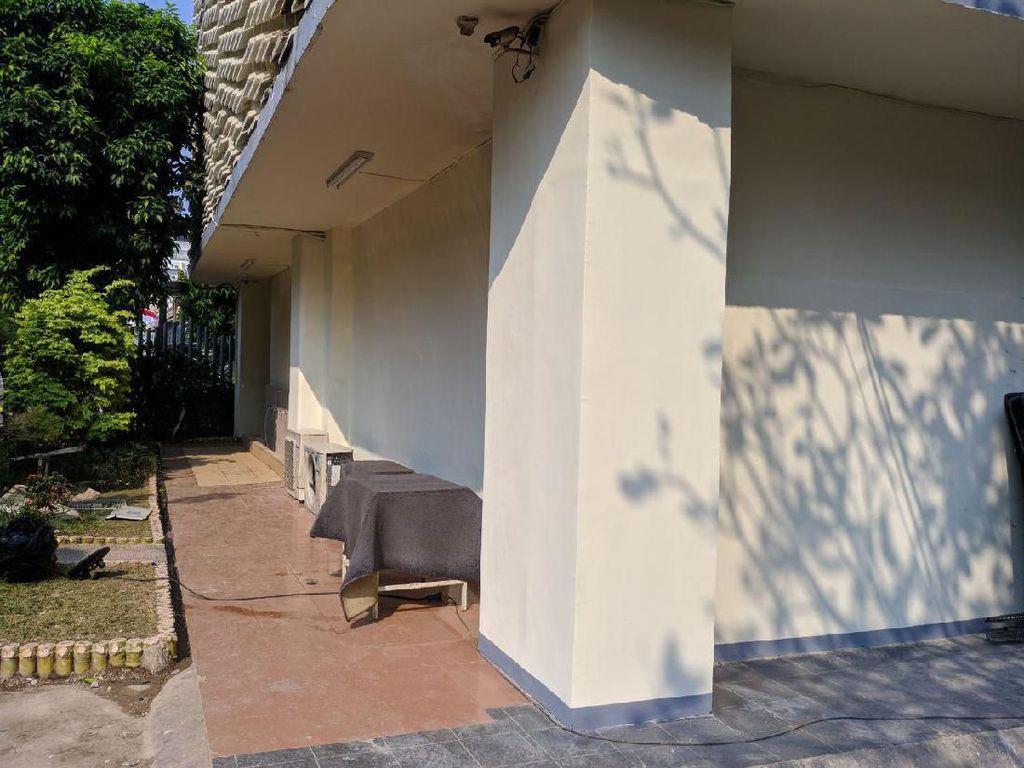 Tembok Gedung Bawaslu yang Bolong Akibat Rusuh 22 Mei Sudah Diperbaiki