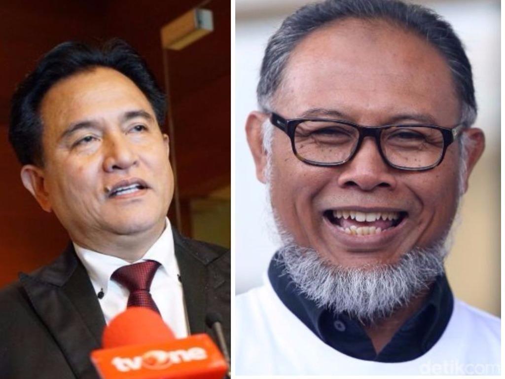 Yusril Anggap Perbaikan Gugatan Prabowo-Sandi Propaganda