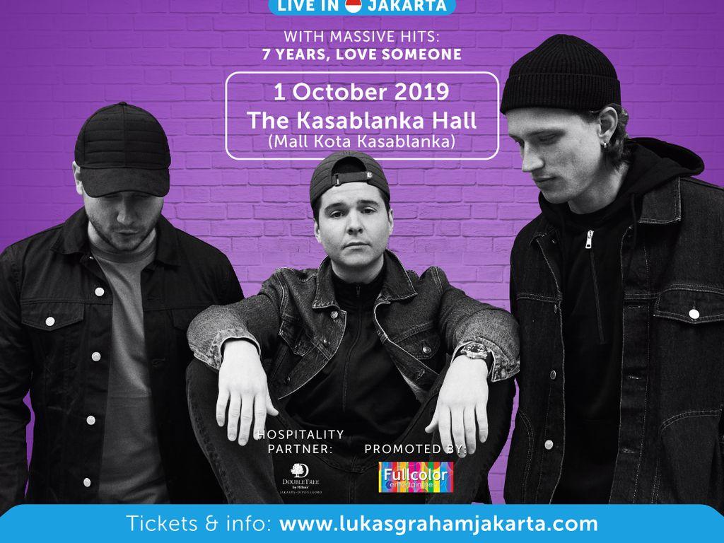Lukas Graham Gelar Konser di Jakarta pada Oktober 2019