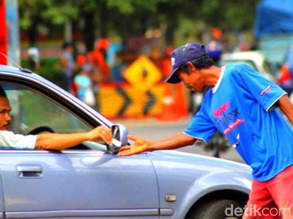 Gara-gara Uang Parkir, Anggota TNI di Blitar Ditodong Parang
