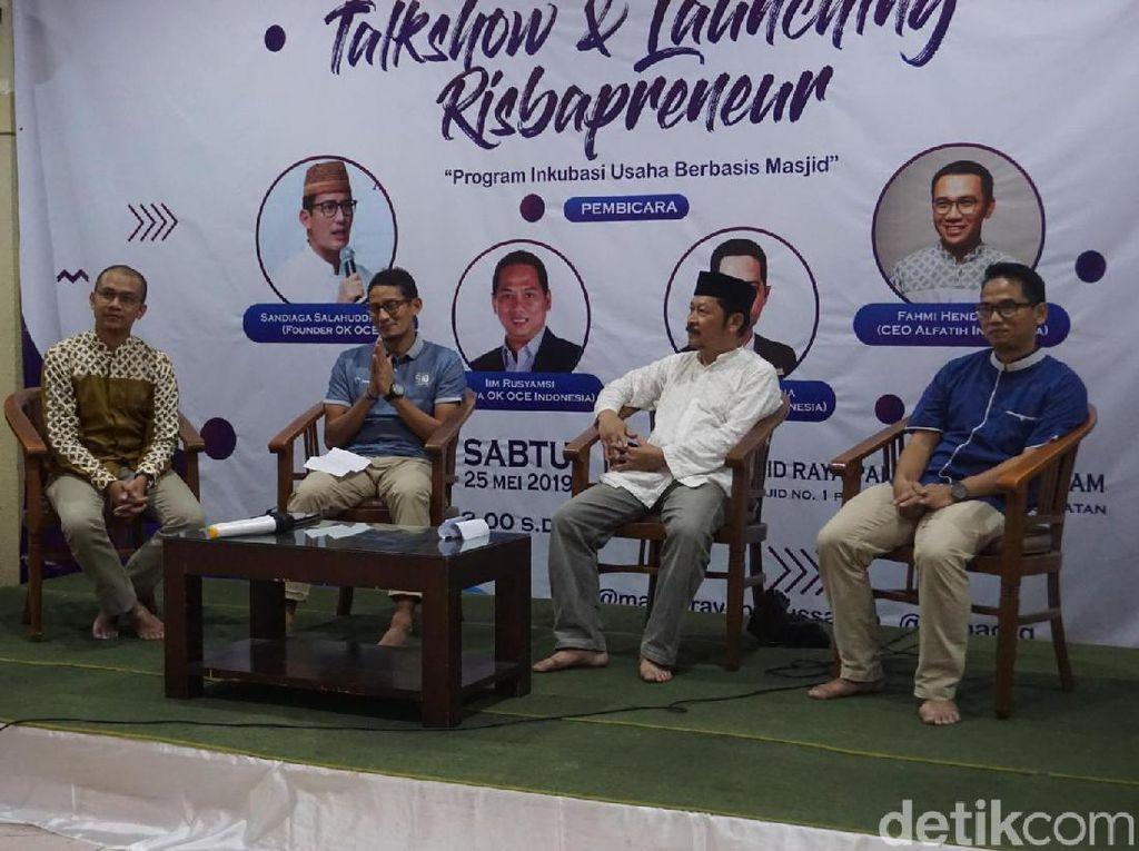 Sandi Apresiasi Inkubasi Usaha Berbasis Masjid di Pasar Minggu